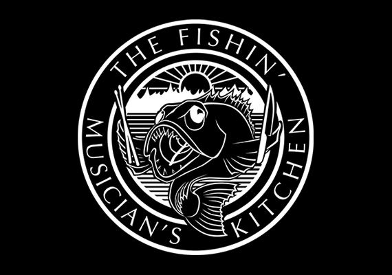 'The Fishin' Musician's Kitchen' - Logo design, motion graphics, and B camera work provided by A.J. King. Copyright Ragnarock Studios.